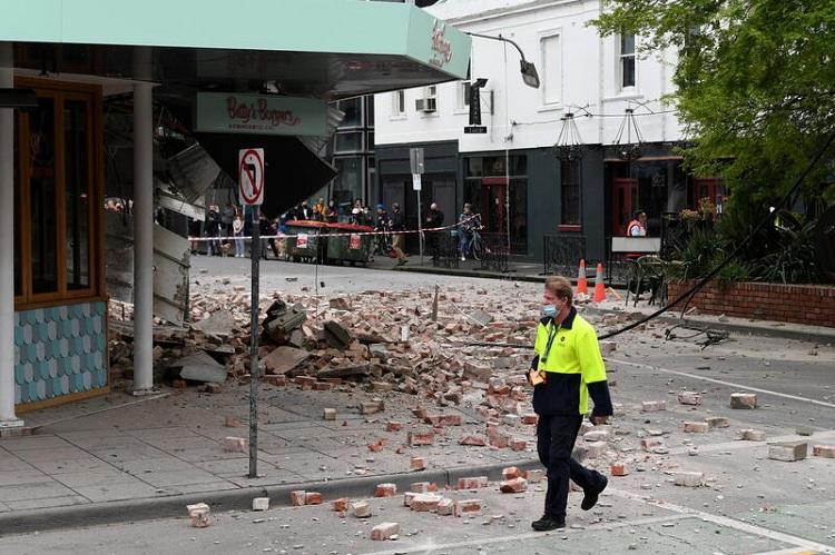 Magnitude 6.0 earthquake strikes southeast Australia