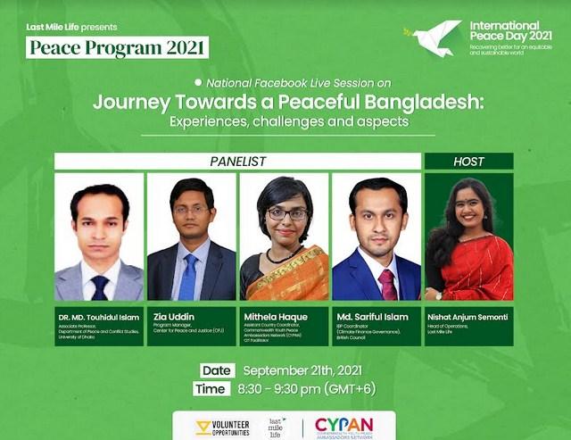 Last Mile Life holds week long peace programme