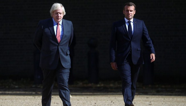 France says UK's Johnson offered to re-establish cooperation