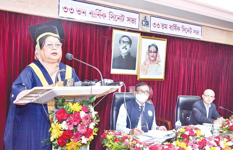 Chittagong University Vice-Chancellor Prof Dr Shirin Akhtar