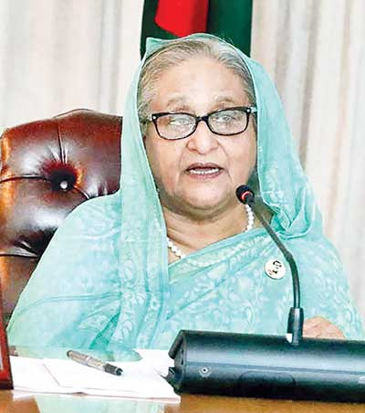 Take part in polls if you believe in people mandate, PM to BNP