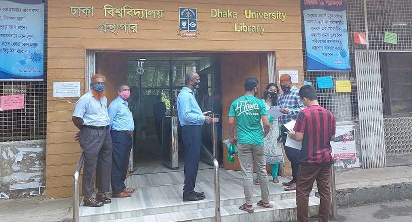 DU Library reopens