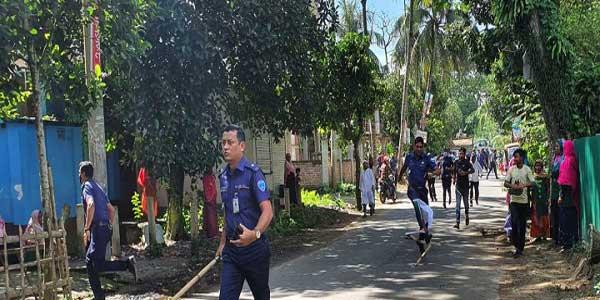 Jubo Dal-police clash in B'baria, 10 hurt