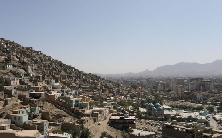 A general view of the city of Kabul, Afghanistan, September 5, 2021. WANA (West Asia News Agency) via REUTERS