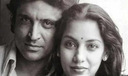 Shabana Azmi and Javed Akhtar tied the knot in 1984. Photo: Collected
