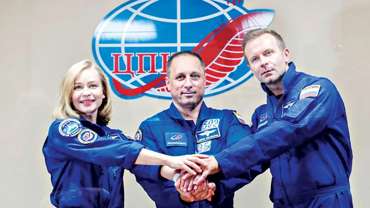 Russian crew to shoot first movie in space