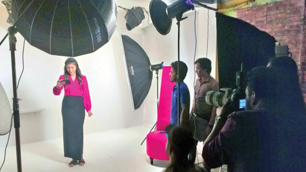 Photographer Manosh Sen with new ideas