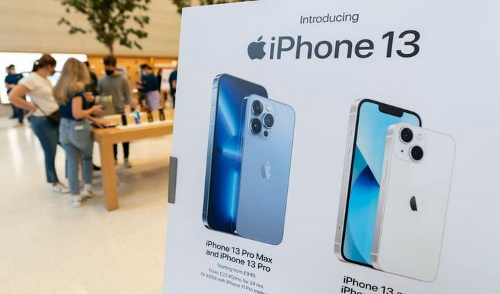 Apple shares drop on reports of iPhone 13 chip shortage