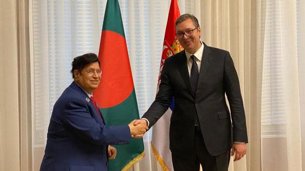 Serbian President lauds Bangladesh's development journey