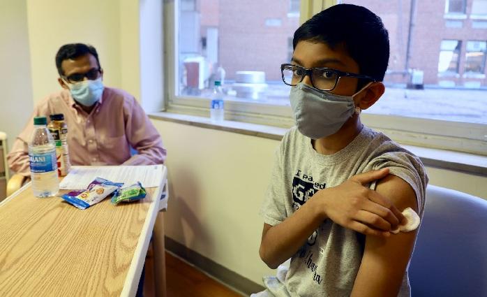Vaccination of school children begins Thursday on experimental basis