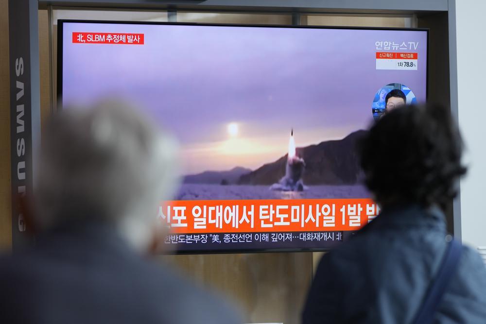 North Korea fires ballistic missile