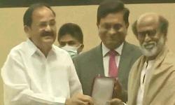 S Indian legend Rajinikanth receives Dadasaheb Phalke Award